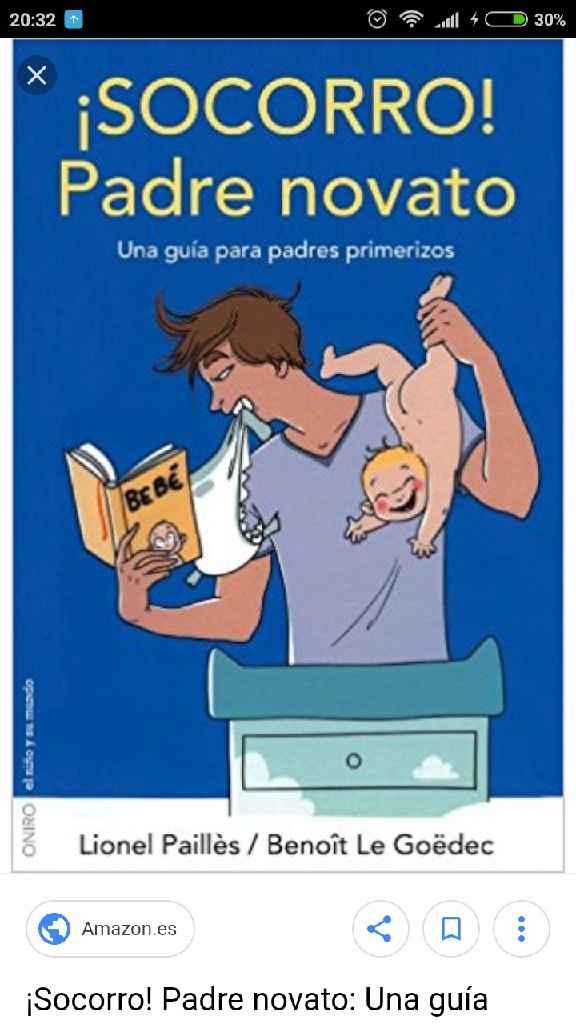 Recomendación libro embarazo, para hombres? - 1
