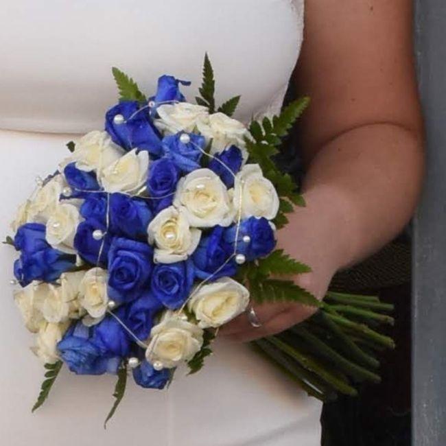 Ramo de novia azul? 2