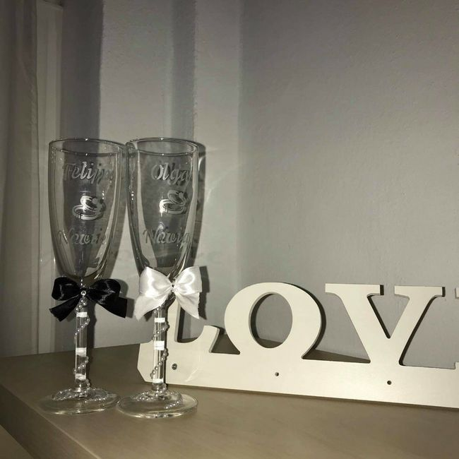 Tendréis copas personalizadas? 2