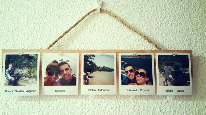 Ideas para decorar tu casa con fotos polaroid viviendo for Decorar casa karma