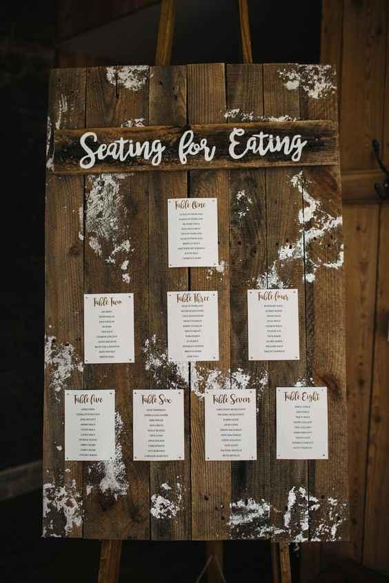 Seating plan - 2