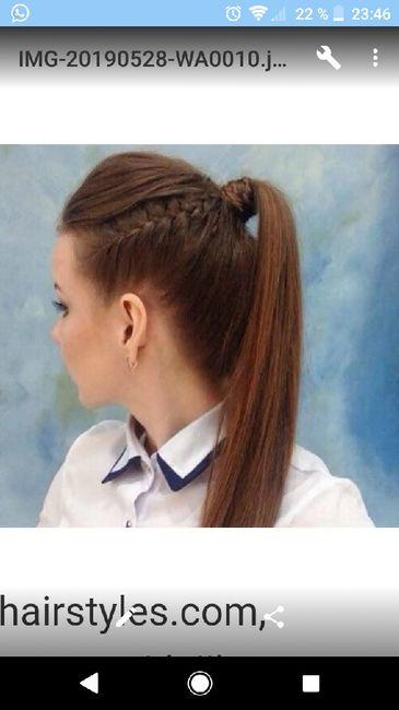 Peinado para pelo liso 1