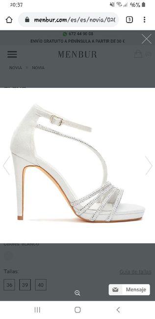 Pendientes y zapatos. - 3