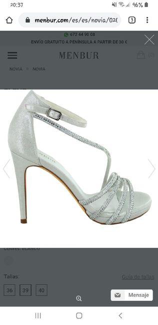 Pendientes y zapatos. - 4