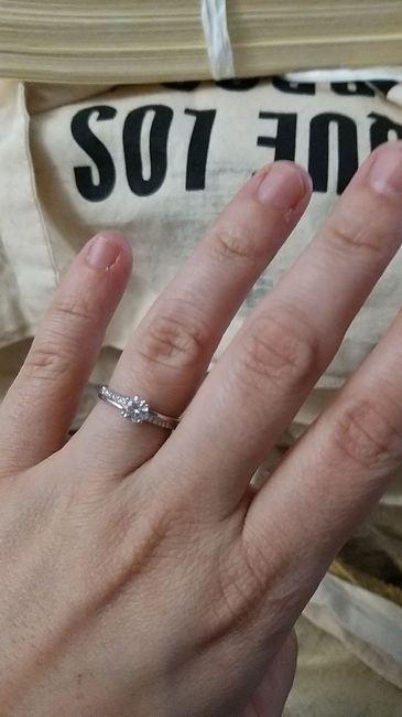 Pongamos foto de nuestros anillos de compromiso 6