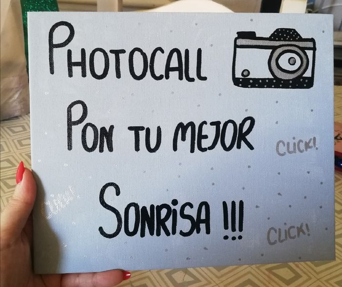 Photocall casero 9