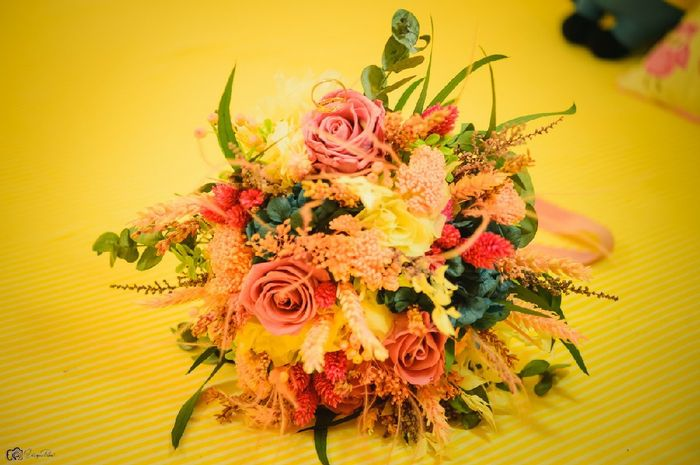 ¿Flores preservadas o de papel? 1