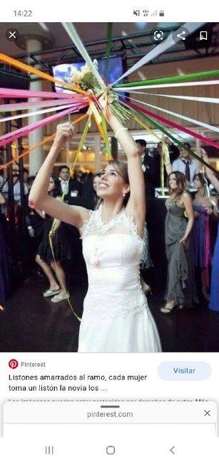 Qué hacer con el ramo de novia 1