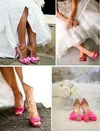 Zapatos novia de color rosa!! - 11