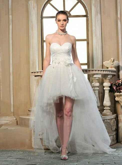 Diferentes vestidos de novia - 2