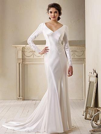 Vestido de bella en su boda