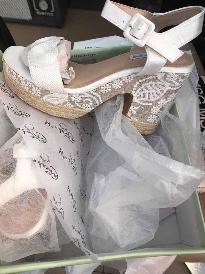 Hola comu ya tengo mis zapatos 🥰🎉🙋🏻♀️👀👀 - 2