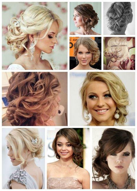 Peinados para novia cara alargada