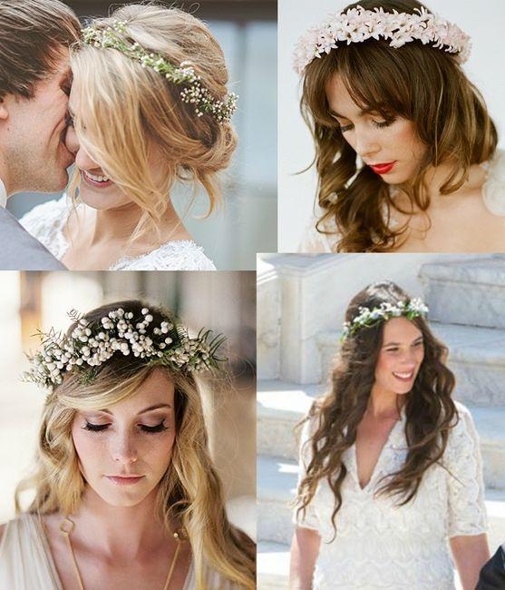 Flores Naturales Para El Pelo Moda Nupcial Foro Bodasnet - Flores-en-el-pelo-para-bodas