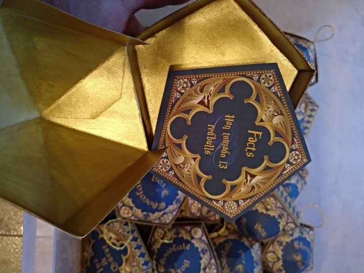Ranas de chocolate! Harry Potter - 3