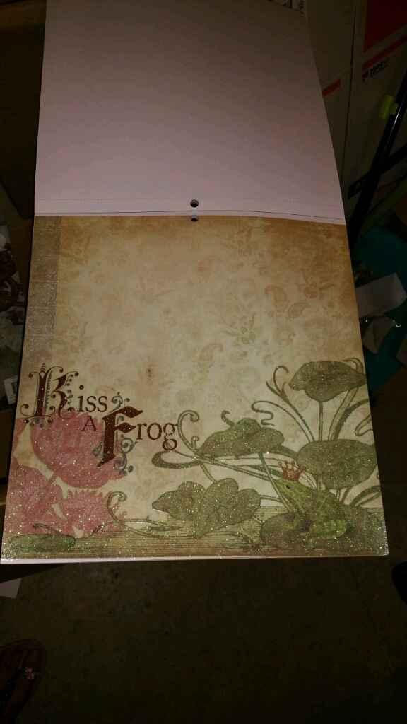 Ya me ha llegado mi papel de scrap para hacer mi libro de firmas!! - 2
