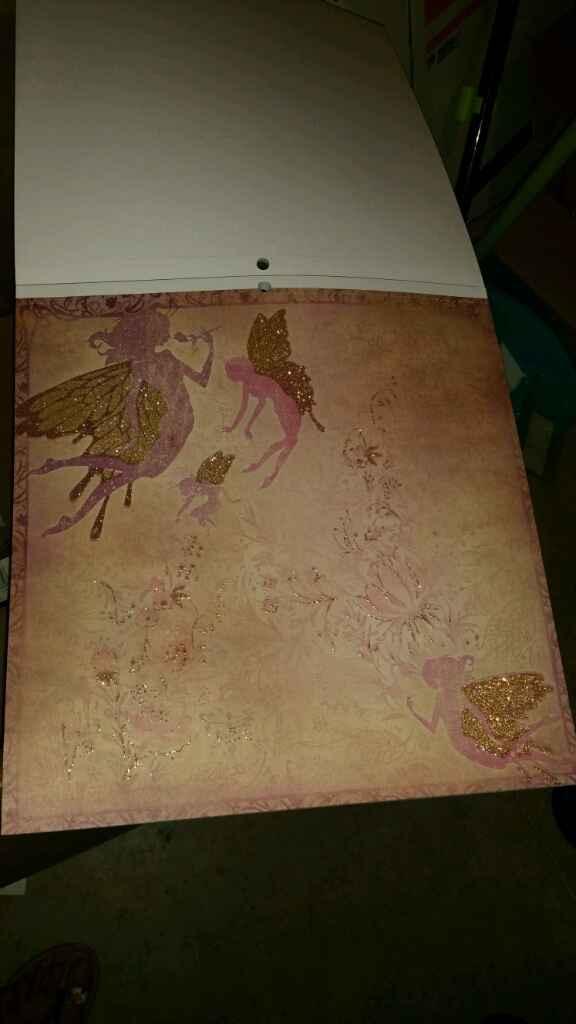 Ya me ha llegado mi papel de scrap para hacer mi libro de firmas!! - 4