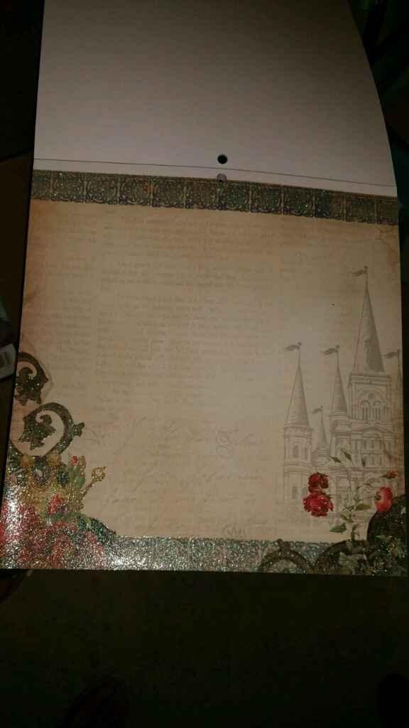 Ya me ha llegado mi papel de scrap para hacer mi libro de firmas!! - 6