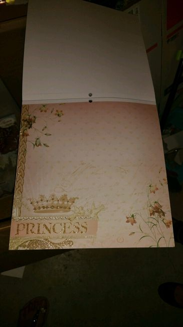 Ya me ha llegado mi papel de scrap para hacer mi libro de firmas!! - 1