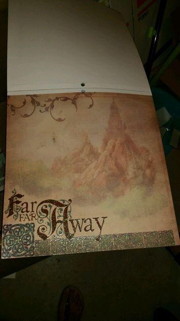 Ya me ha llegado mi papel de scrap para hacer mi libro de firmas!! - 3