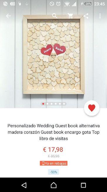 Libro firmas: cuadro corazones aliexpress - Manualidades - Foro ...