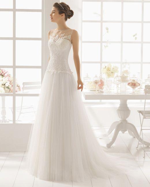 vestido de novia talla grande - moda nupcial - foro bodas