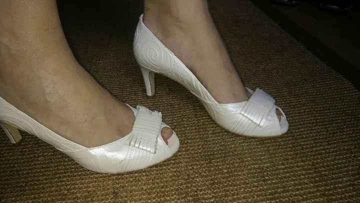 ¿Llevarás zapatos de color en tu boda? - 1