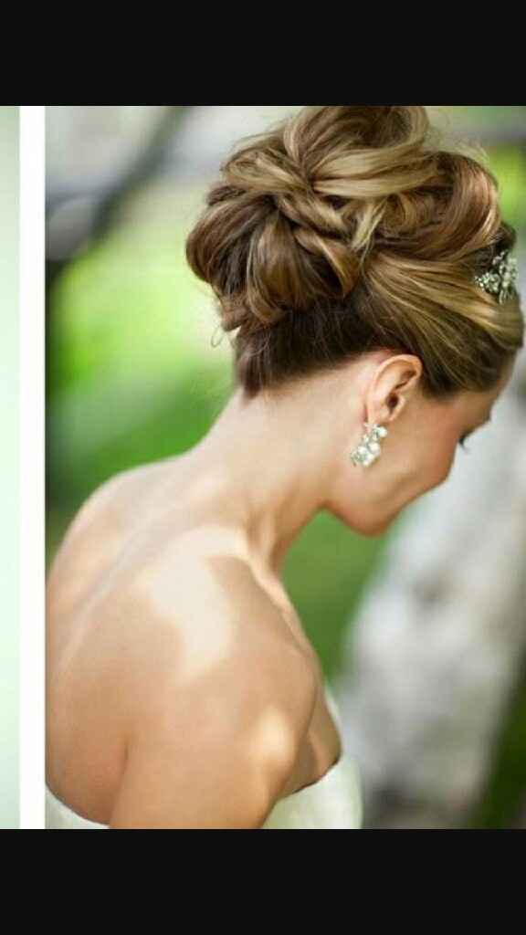Peinados tiara y velo - 3