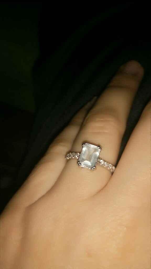 ¿Estás enamorada de tu anillo de compromiso? - 1