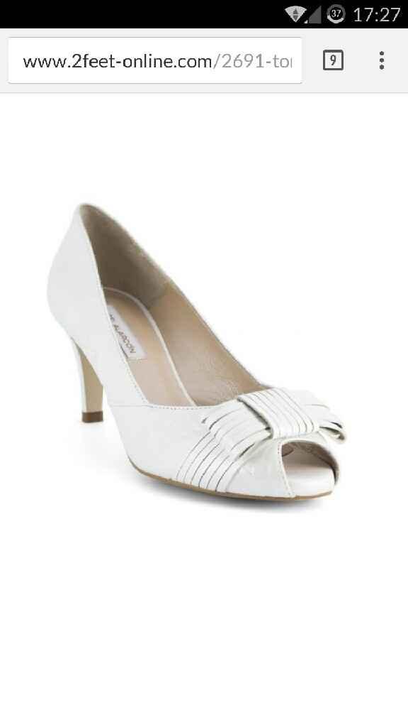¿reutilizaréis los zapatos de novia? - 1