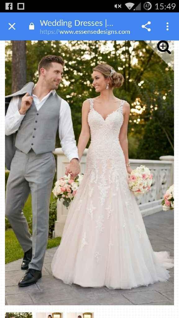 Vestido de boda de color - 1