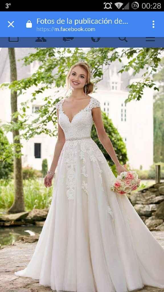 Vestido de boda de color - 2