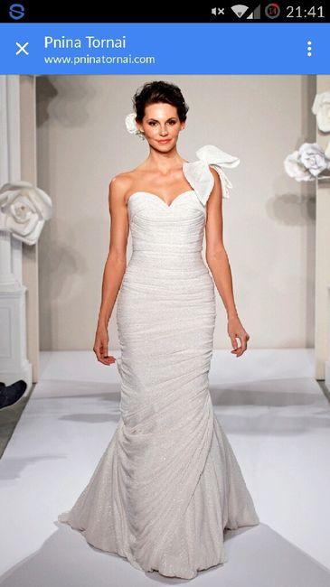 Vestidos de novia marca pnina