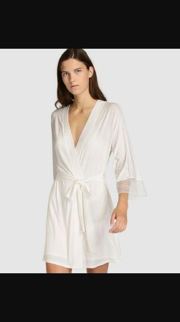 Bata,camisón y culotte. - 1