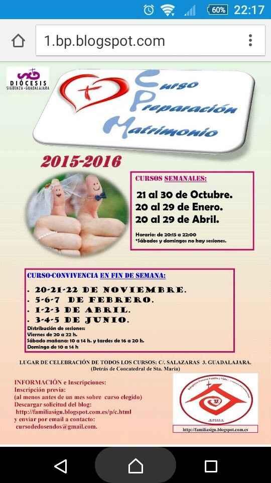 Cursos prematrimoniales - 1