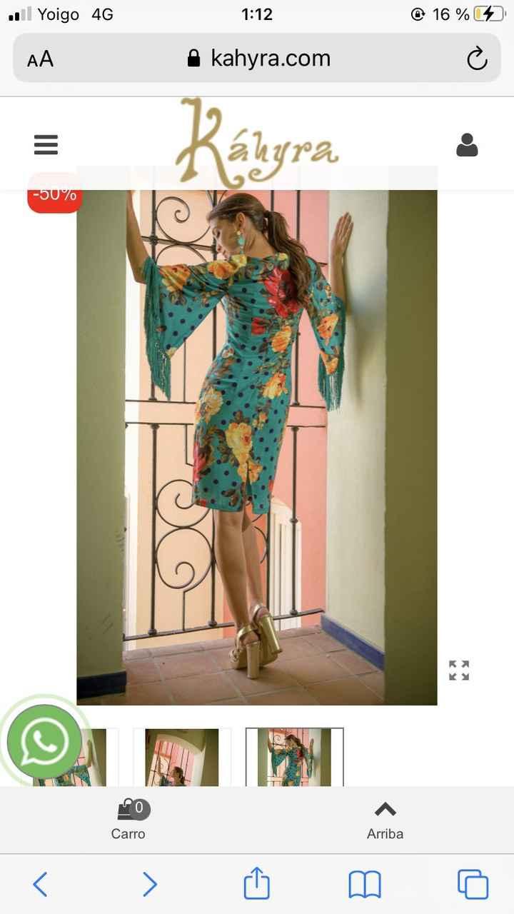 Como veis este vestido para boda en Octubre ? 1