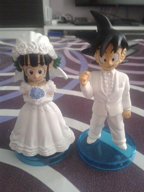figura goku y chichi novios - página 2 - banquetes - foro bodas