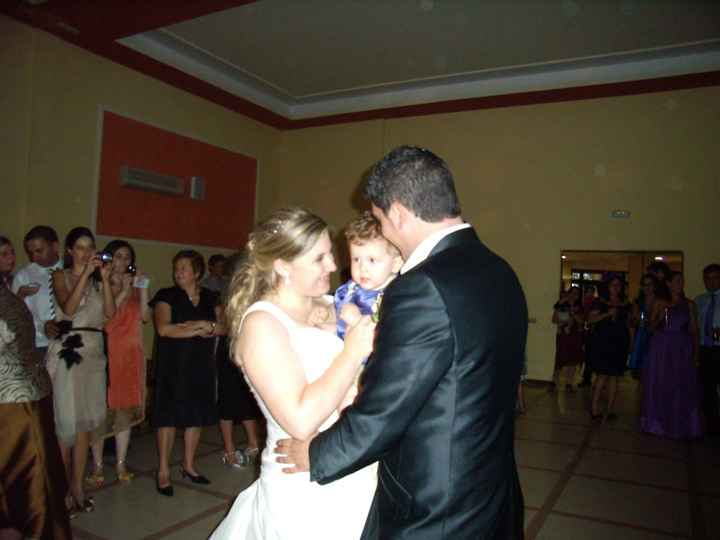 Baile nupcial con mi bebé..
