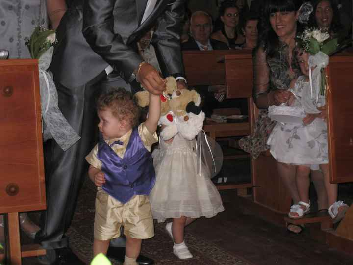 Niños de la boda