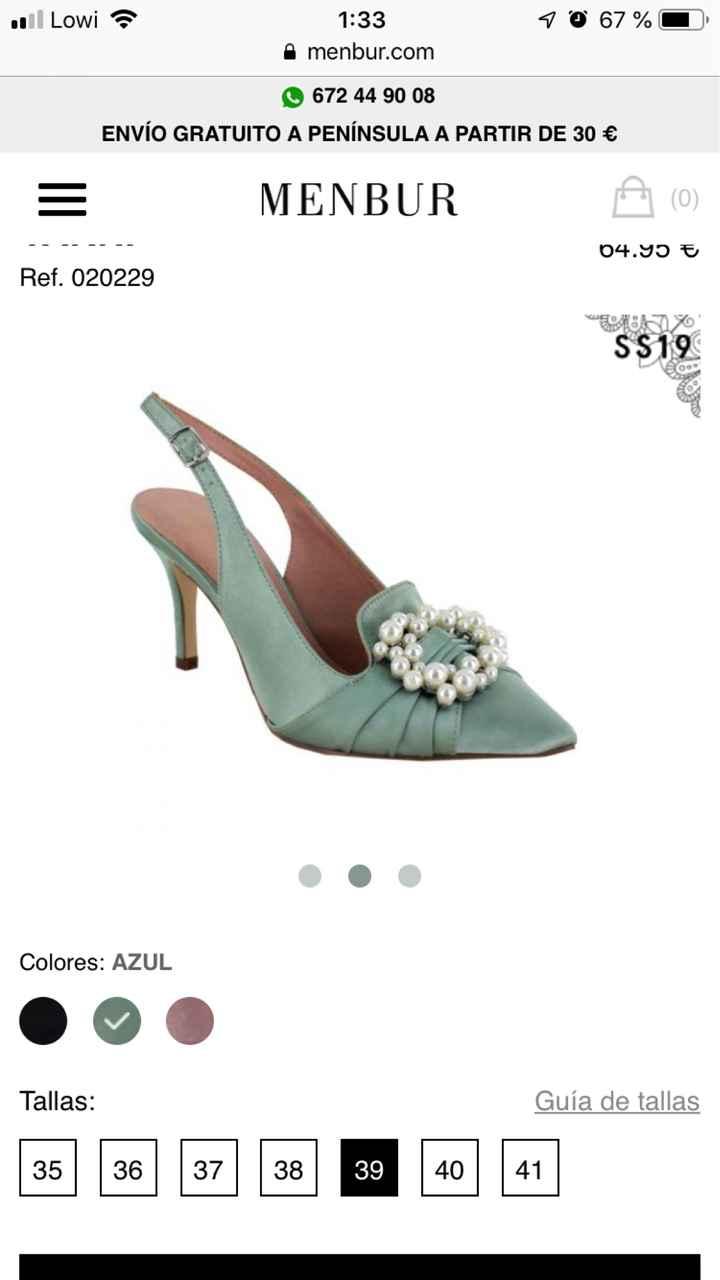 Zapatos de novia!! Ayuda 😱😱 - 1