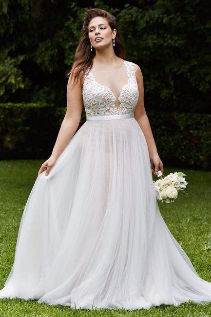 Vestidos de novia weloversize