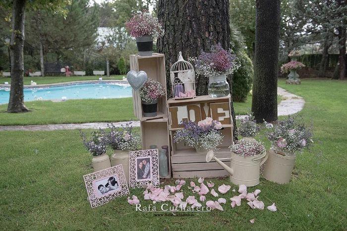 Decoraci n al aire libre organizar una boda foro - Decorar el jardin ...