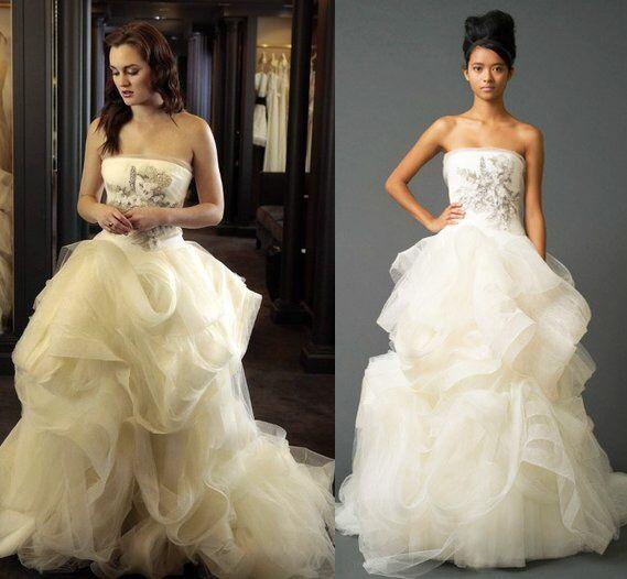 vestido vera wang - moda nupcial - foro bodas