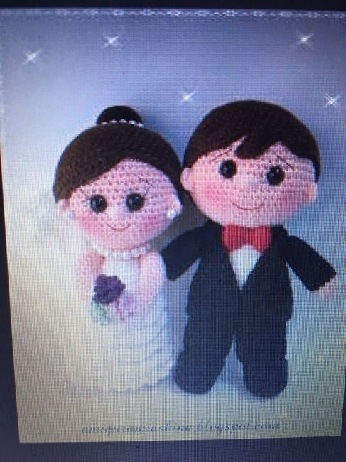 muñecos novios ganchillo/crochet - manualidades - foro bodas