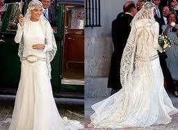 Vestidos de famosas para bodas de dia