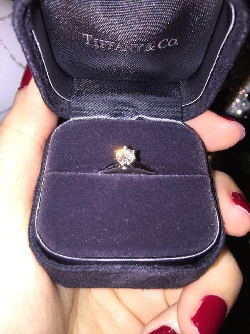 Mi anillo Tiffany de pedida