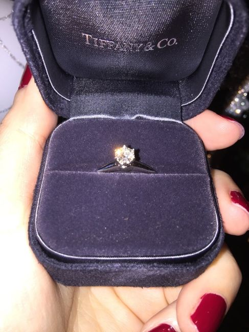 Mi anillo tiffany de pedida - 1