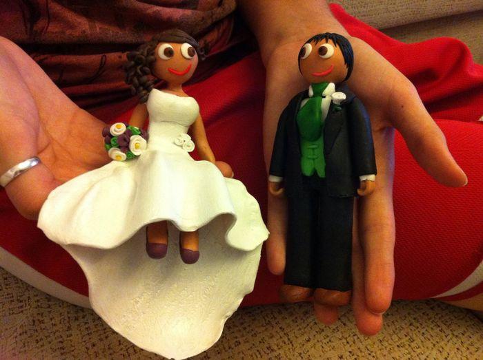 Mis muñecos de la tarta!