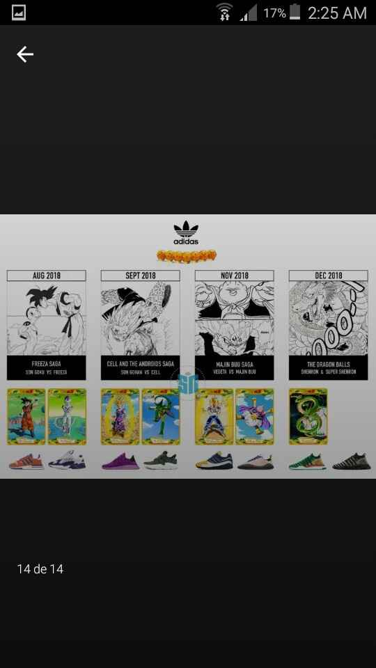 Zapatos dragon ball - 1