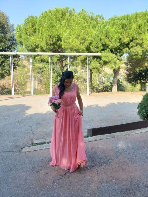 vestido de novia en color 2
